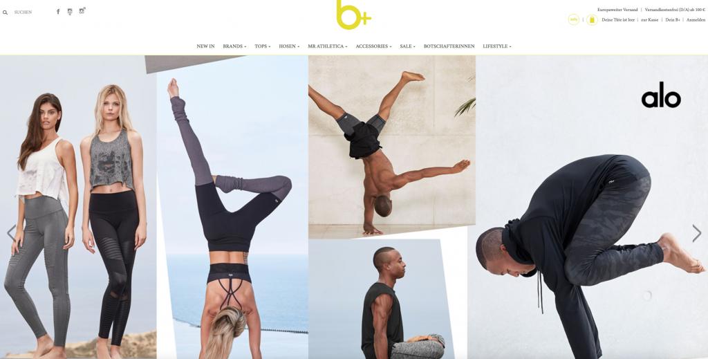 Onlineshop für Yoga und mehr